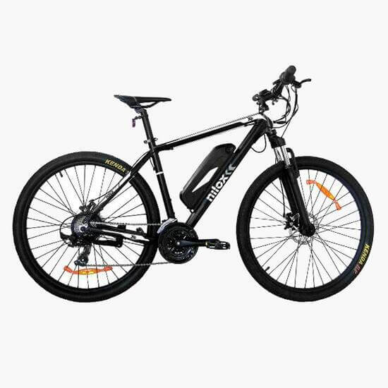Bicicleta elétrica da sport zone