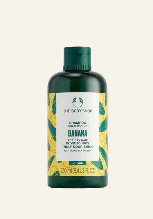 champô nutritivo de banana da Body Shop