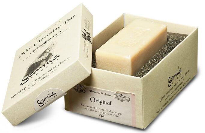 barra de limpeza da Gamila Secret da Perfumes & Companhia